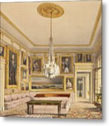 The Striped Drawing Room, Apsley House Metal Print