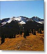 The Sugar Coated Mountains Metal Print