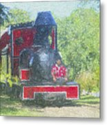 The Sugar Train Metal Print