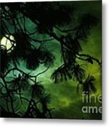 The Sun And Clouds Metal Print