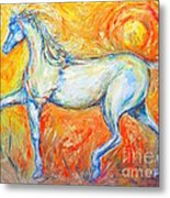 The Sun Horse Metal Print