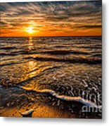 The Sunset Metal Print by Adrian Evans