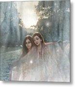 The Sunset Dance Metal Print by Angel  Tarantella