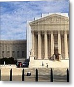 The Supreme Court Facade  Metal Print