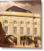 The Surrey Theatre, London, 1826 Metal Print