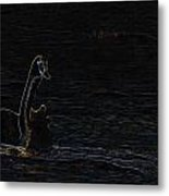 The Swan Of Tuonela Metal Print