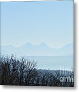 The Swiss Alps Panorama  2 Metal Print