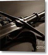 The Sword Of Aragorn 2 Metal Print