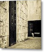 The Synagogue Metal Print