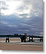 The T1 Bridge Metal Print