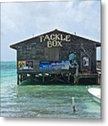 The Tackle Box Sign Metal Print