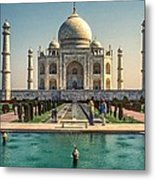 The Taj Maha Metal Print