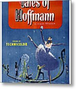 The Tales Of Hoffmann, Poster Art, 1951 Metal Print