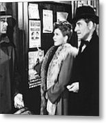 The Talk Of The Town, From Left, Cary Metal Print