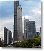 The Tall Buildings Metal Print