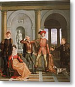 The Taming Of The Shrew Metal Print