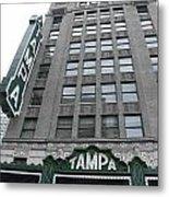 The Tampa Theatre Metal Print