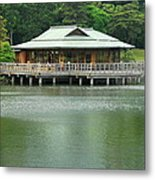The Tea House Metal Print