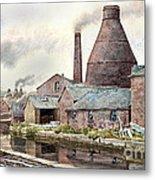 The Teapot Factory Metal Print