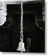 The Temple Bell Metal Print