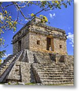 The Temple Of The Seven Dolls Metal Print