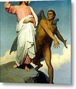 The Temptation Of Christ Metal Print