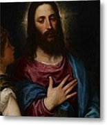 The Temptation Of Christ Metal Print