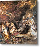 The Temptation Of St. Anthony Metal Print
