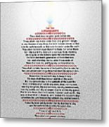 The Ten Commandments Metal Print