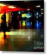 The Terminal - Train Stations Of New York Metal Print