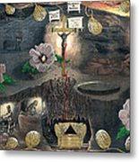 The Testimony Of Ron Wyatt - Ark Of The Covenant Metal Print