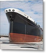 The Texas Cargo Ship Metal Print