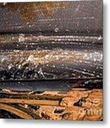 The Texture Metal Print