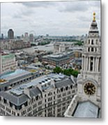 The Thames From St Paul's Metal Print
