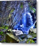 The Thawing Falls Metal Print