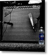 The Thirst Of Sound Metal Print by Steven Digman