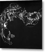 The Thought Metal Print