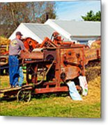 The Thrasher In Action Metal Print