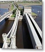 The Three Bridges. Metal Print