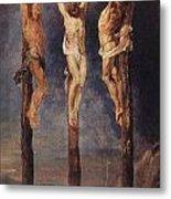 The Three Crosses Metal Print