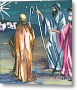 The Three Kings Metal Print
