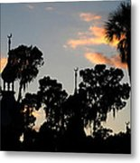 The Three Minarets Metal Print