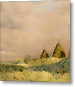 The Three Stacks Metal Print
