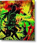 The Thunder Of Rock 'n' Roll Metal Print
