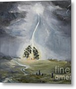 The Thunder Storm Metal Print