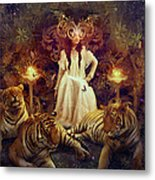 The Tiger Temple Metal Print