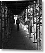 The Time Tunel Metal Print