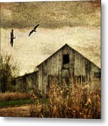 The Times They Are A Changing Metal Print