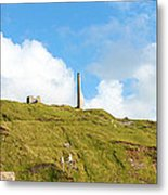 The Tin Mines Of Cornwall Metal Print