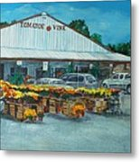 The Tomatoe Vine Metal Print